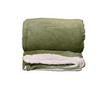 Unique Living XL Plaid Lars (Oil Green)
