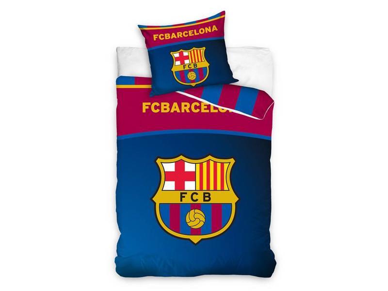 FC Barcelona FC Barcelona dekbedovertrek FCB Club Logo (Blue/Red)