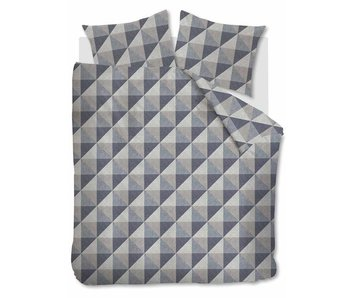 Beddinghouse Flanel Stairs (Blue Grey)