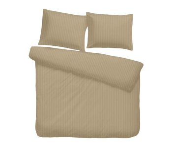 iSleep Satijnstreep (Medium Beige)