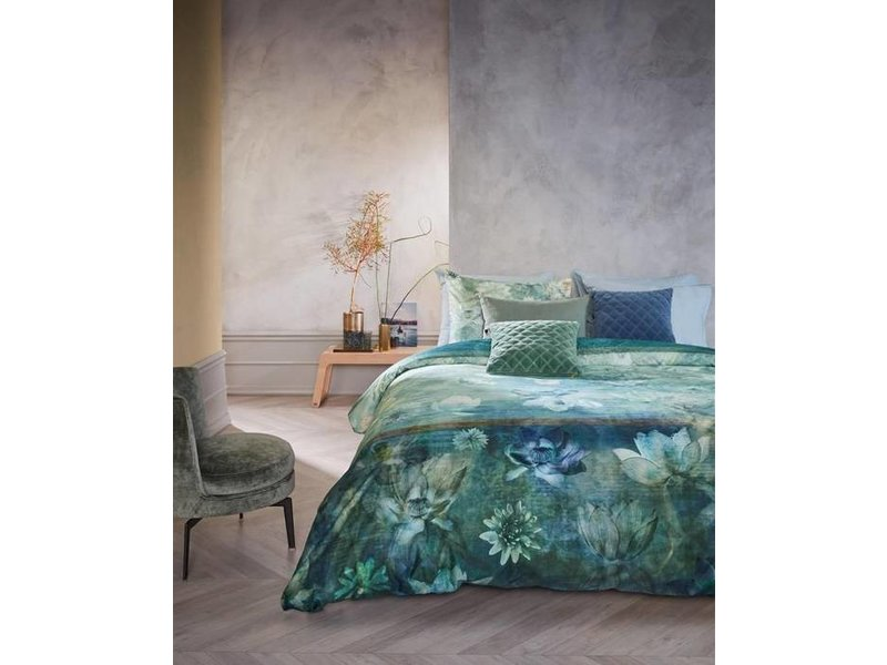 Kardol Kardol dekbedovertrek Nymph (Blue Green)