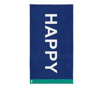 Seahorse Strandlaken Happy (Blue)