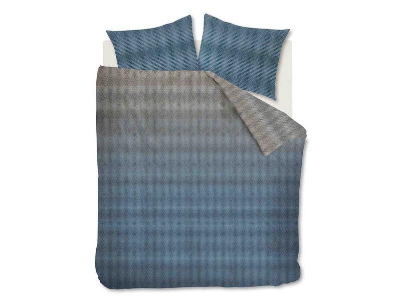 Beddinghouse Beddinghouse dekbedovertrek Calton (Blue Grey)