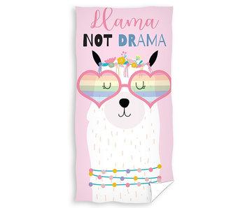 Strandlaken Llama Not Drama (Pink)