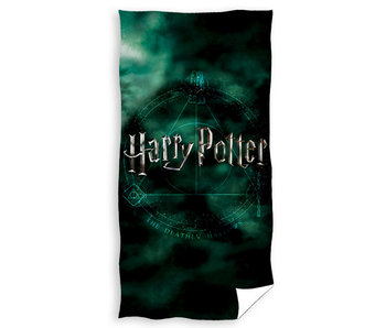 Harry Potter Strandlaken The Deathly Hallows (Green)