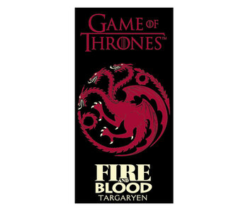 Game of Thrones Fire and Blood (Red)