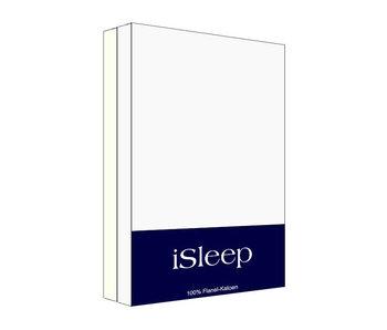 iSleep Kussensloop Flanel Katoen (2 stuks)