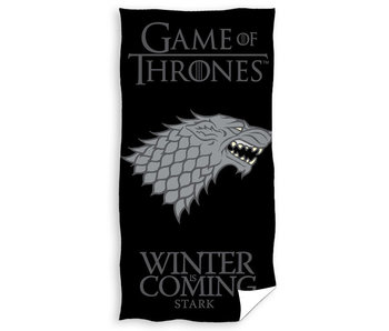 Game of Thrones Winter is Coming (Black)