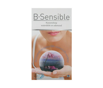 B-Sensible 2 in 1 kussensloop (Wit)