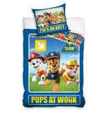 PAW Patrol PAW Patrol dekbedovertrek Pups at Work (Blue)