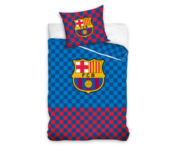 FC Barcelona Checkered (Blue/Red)