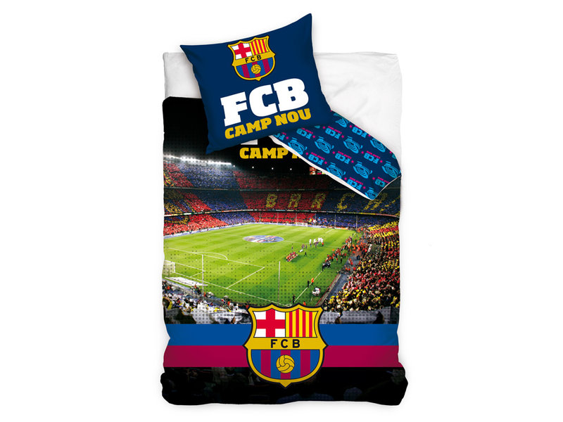 FC Barcelona FC Barcelona dekbedovertrek Camp Nou (Multi)