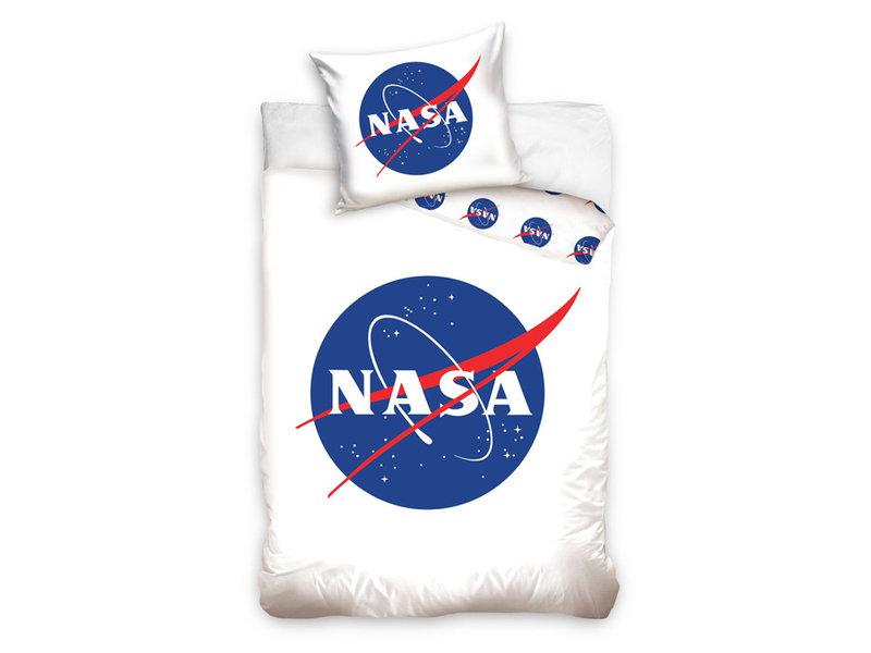 NASA NASA dekbedovertrek Logo (White)