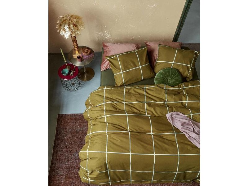 At Home At Home by Beddinghouse dekbedovertrek Simple (Ochre)