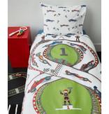 Beddinghouse Beddinghouse Kids dekbedovertrek Race Track (Multi)