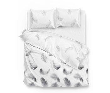 Zo! Home Flanel Feathers (Grey)