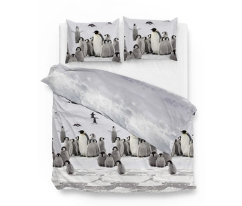 Zo! Home Flanel Pinguin (Grey)