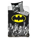 Batman Batman dekbedovertrek Gotham (Zwart/Wit)