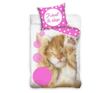 Bedtex Young I Want To Sleep (Roze)