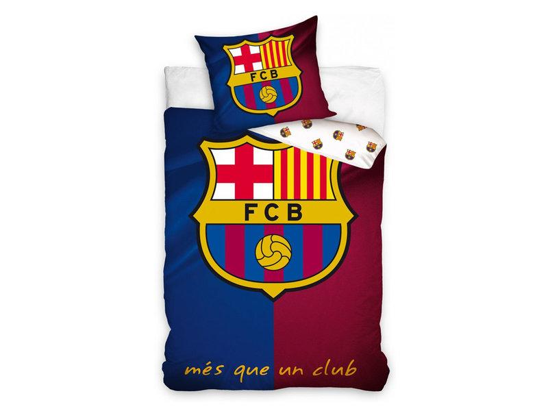 FC Barcelona FC Barcelona dekbedovertrek Més Que Un Club (Blue/Red)
