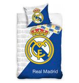 Real Madrid Real Madrid dekbedovertrek RMCF Logo (White/Blue)