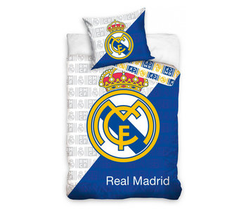 Real Madrid RMCF Logo (White/Blue)