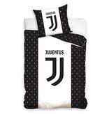 Juventus FC Juventus dekbedovertrek Juve Letterpatroon (Black/White)