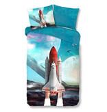 Good Morning Good Morning dekbedovertrek Spaceshuttle (Multi)