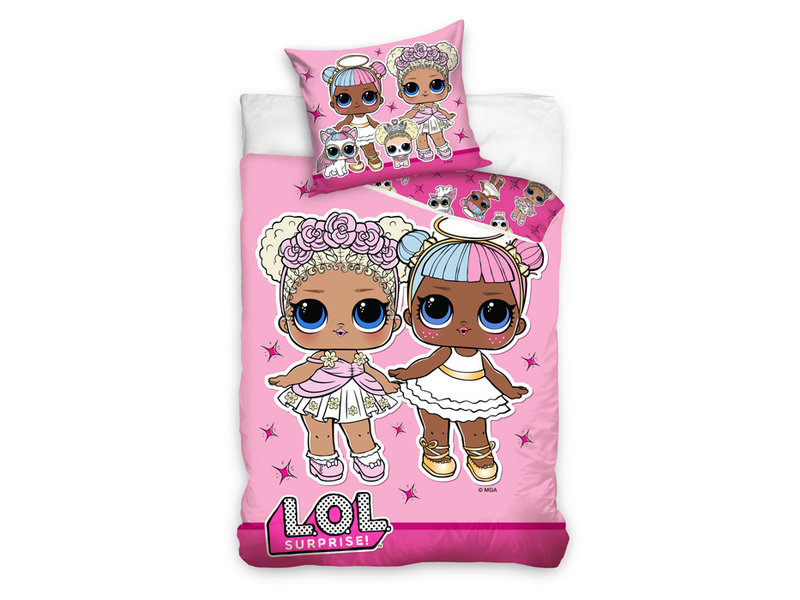 L.O.L. Surprise! L.O.L. Surprise! dekbedovertrek Pet Friends (Pink)