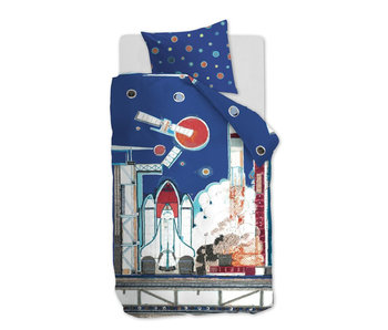 Beddinghouse Rocket Ship (Blue)