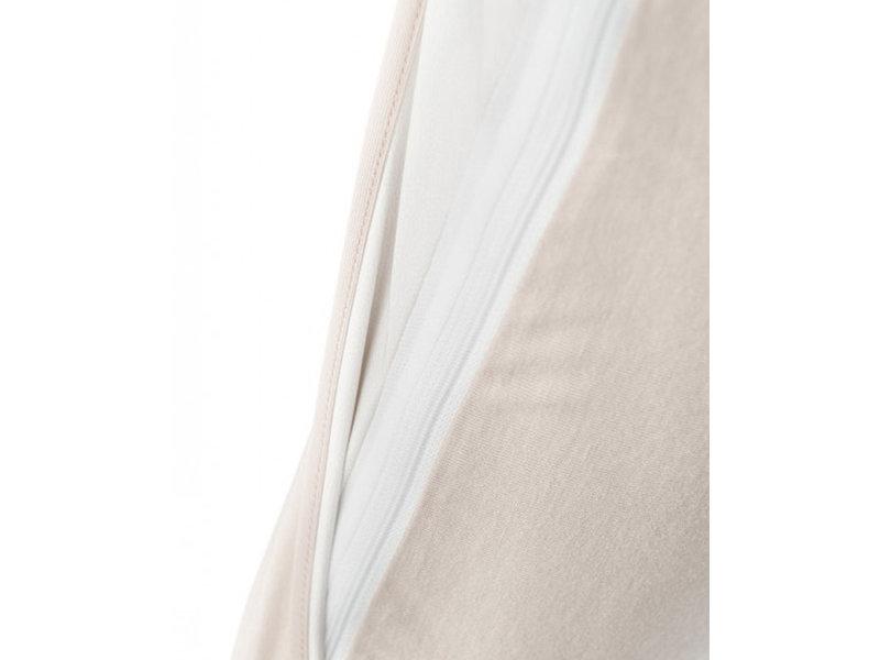B-Sensible B-Sensible 2 in 1 waterdicht & ademend kussensloop + kussenbeschermer (Arran/Naturel) - 60x70