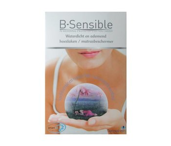 B-Sensible 2 in 1 Topper hoeslaken (Wit)