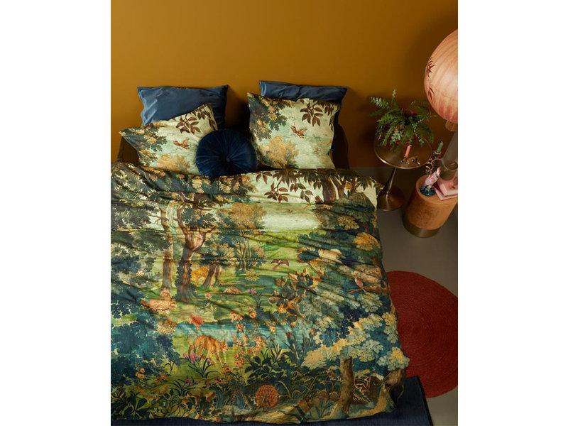 At Home At Home by Beddinghouse dekbedovertrek Idyllic (Green)