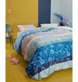 Oilily Oilily dekbedovertrek Blooming Stripe (Blue)