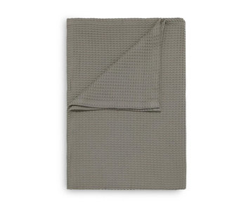 Heckett & Lane Wafel Plaid (Taupe Grey)