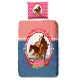 Good Morning Good Morning dekbedovertrek Horse (Multi)