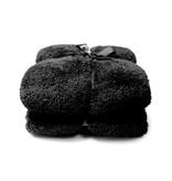 Unique Living Unique Living Plaid Teddy (Black)