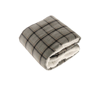 Unique Living Plaid Bingley Dessin 1 (Grey)