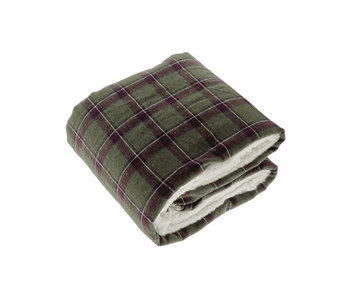Unique Living Plaid Bingley Dessin 3 (Dark Green)