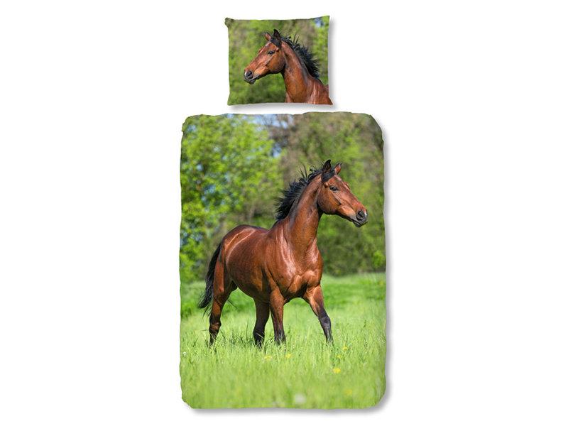 Good Morning Good Morning dekbedovertrek Running Horse (Multi)
