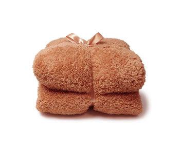 Unique Living Plaid Teddy (Sandstone)