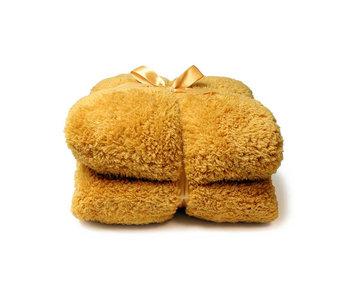 Unique Living Plaid Teddy (Mellow Yellow)