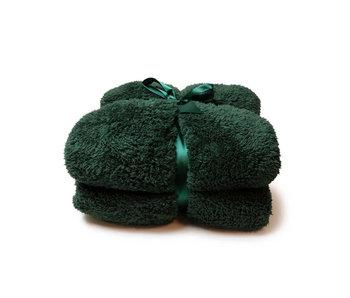 Unique Living Plaid Teddy (Dark Green)