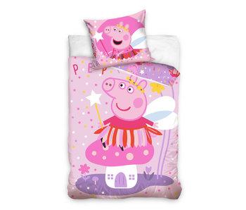 Peppa Pig dekbedovertrek Fairy Tale (Pink)