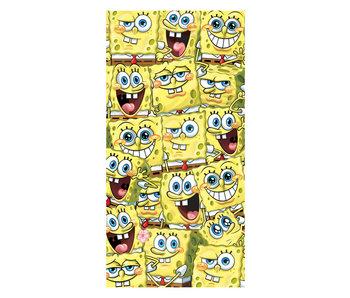 Spongebob Strandlaken Spongebob is Everywhere (Geel)