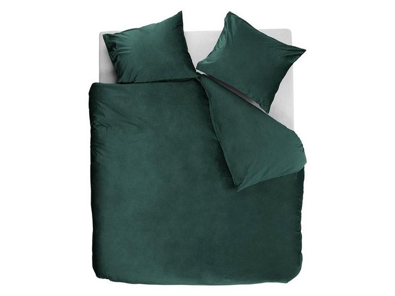 At Home At Home by Beddinghouse dekbedovertrek Tender (Green)