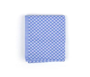 Bunzlau Castle Theedoek Small Check (Royal Blue)