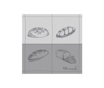 DDDDD Theedoek Bread (Grey)