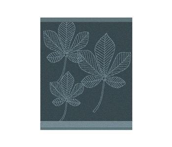 DDDDD Keukendoek Leaves (Atlantic Blue)