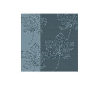 DDDDD Theedoek Leaves (Atlantic Blue)